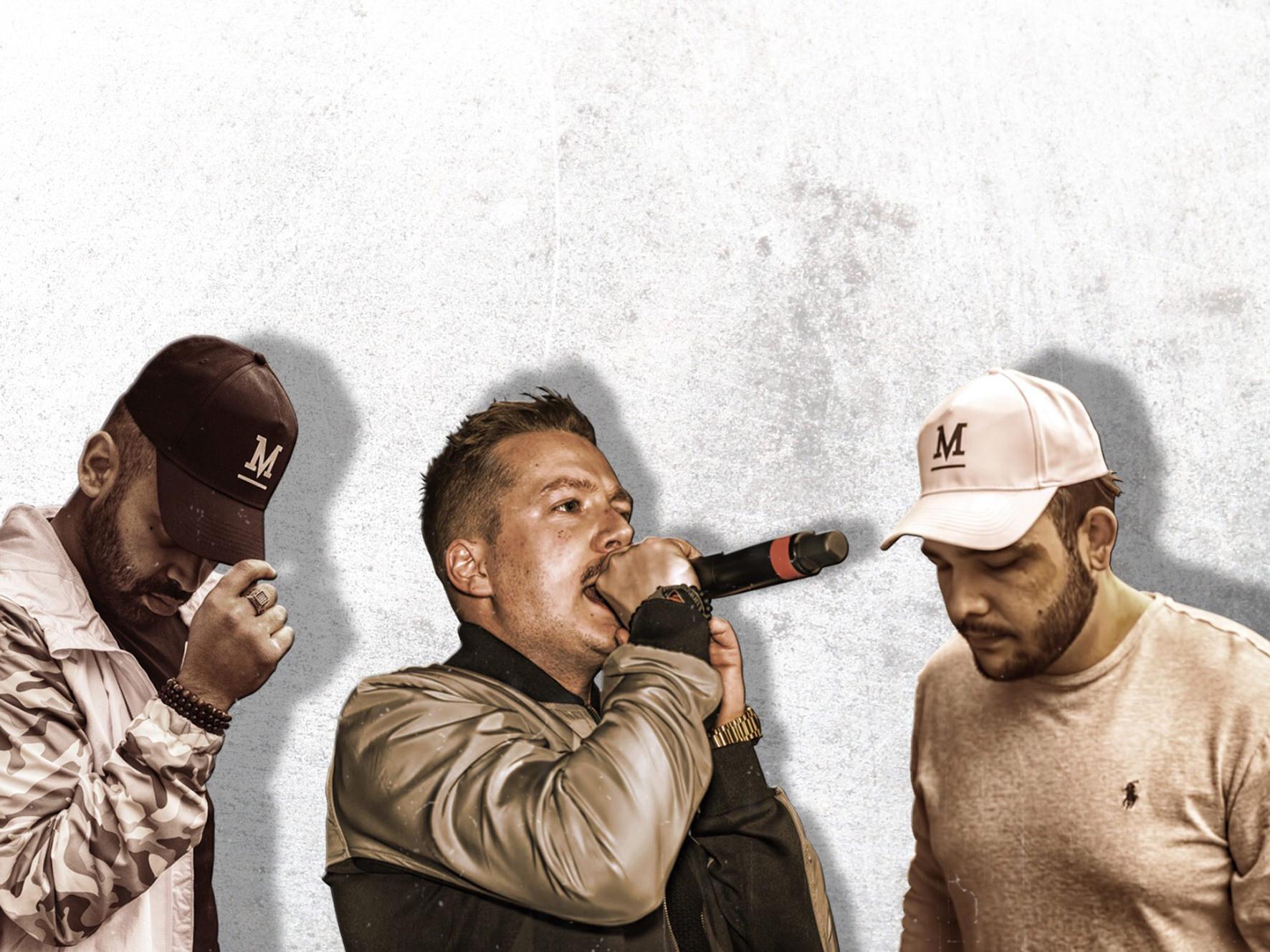 Rapper Boeze en Platenlabel HOMEGRWN